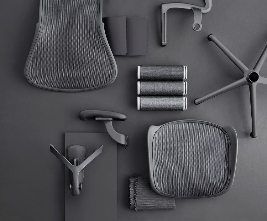 Herman Miller updates iconic Aeron office chair Product design