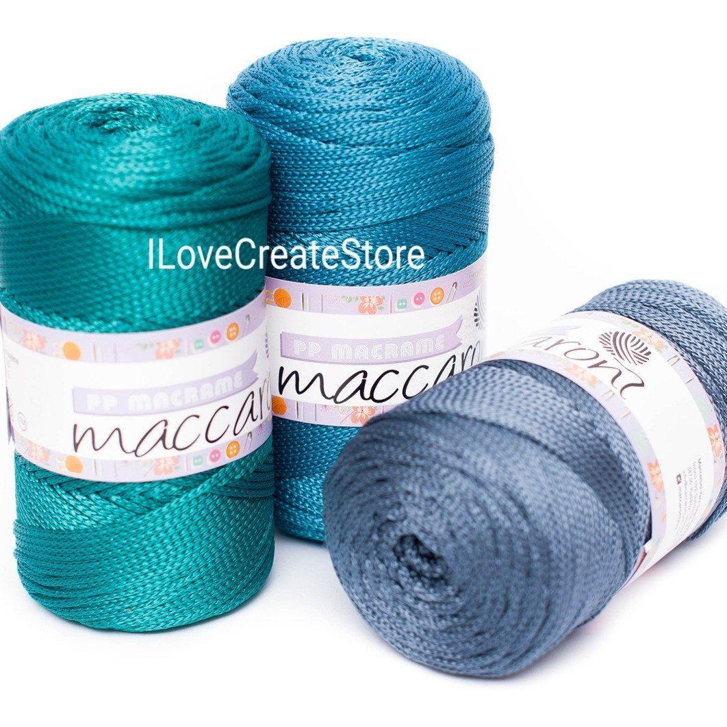 Emerald Polyester Rope Crochet Textile Glitter Cord Macrame Etsy Macrame Cord Crochet Cord Thread Crochet