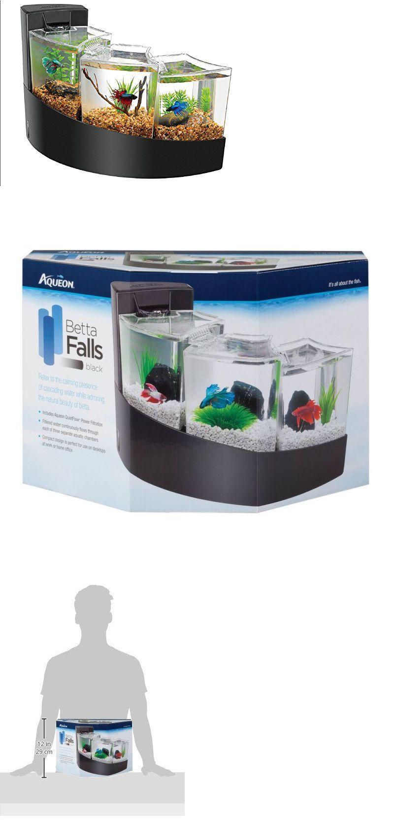 Aquariums and tanks beta desktop aquarium tank fish kit falls