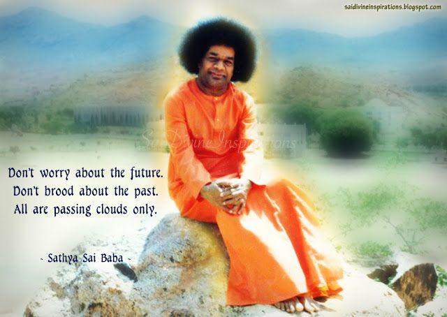 Sai Divine Inspirations Sathya Sai Baba Sai Baba Baba Image