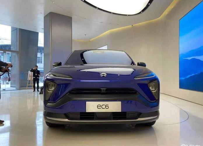 NIO Debuts New EV NIO EC6 Is a Coupe SUV Based on ES6
