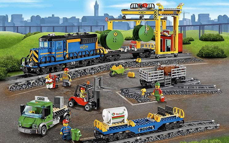 Cargo Train | Modge Podge | Pinterest | Lego, Lego city and Legos