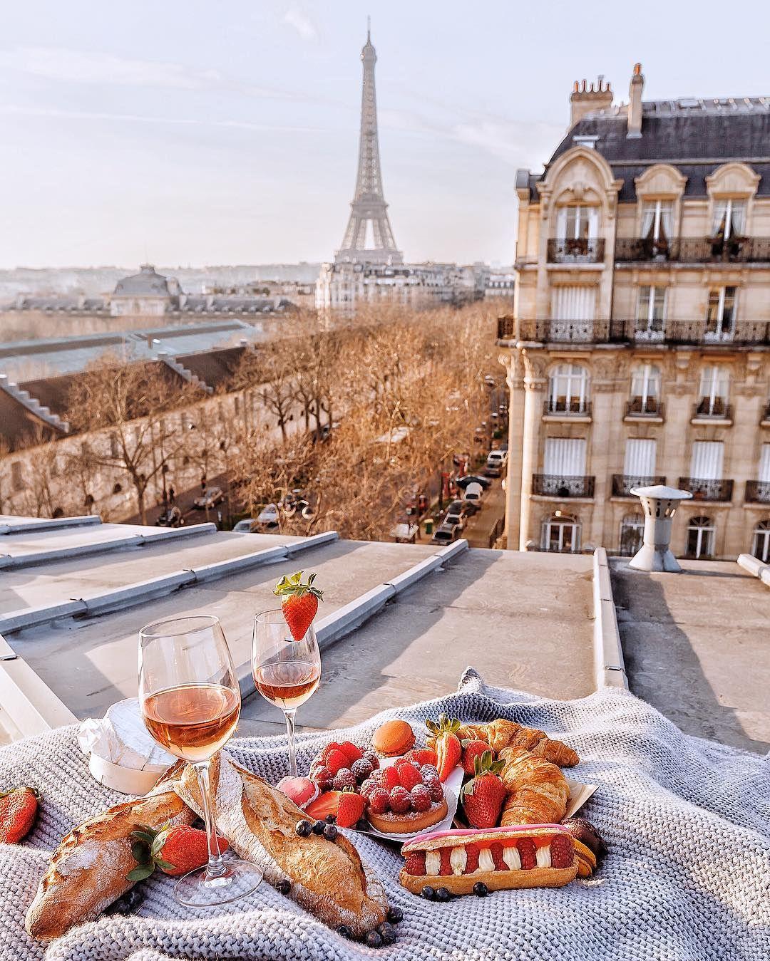 вкусный утренний париж фото рассказала