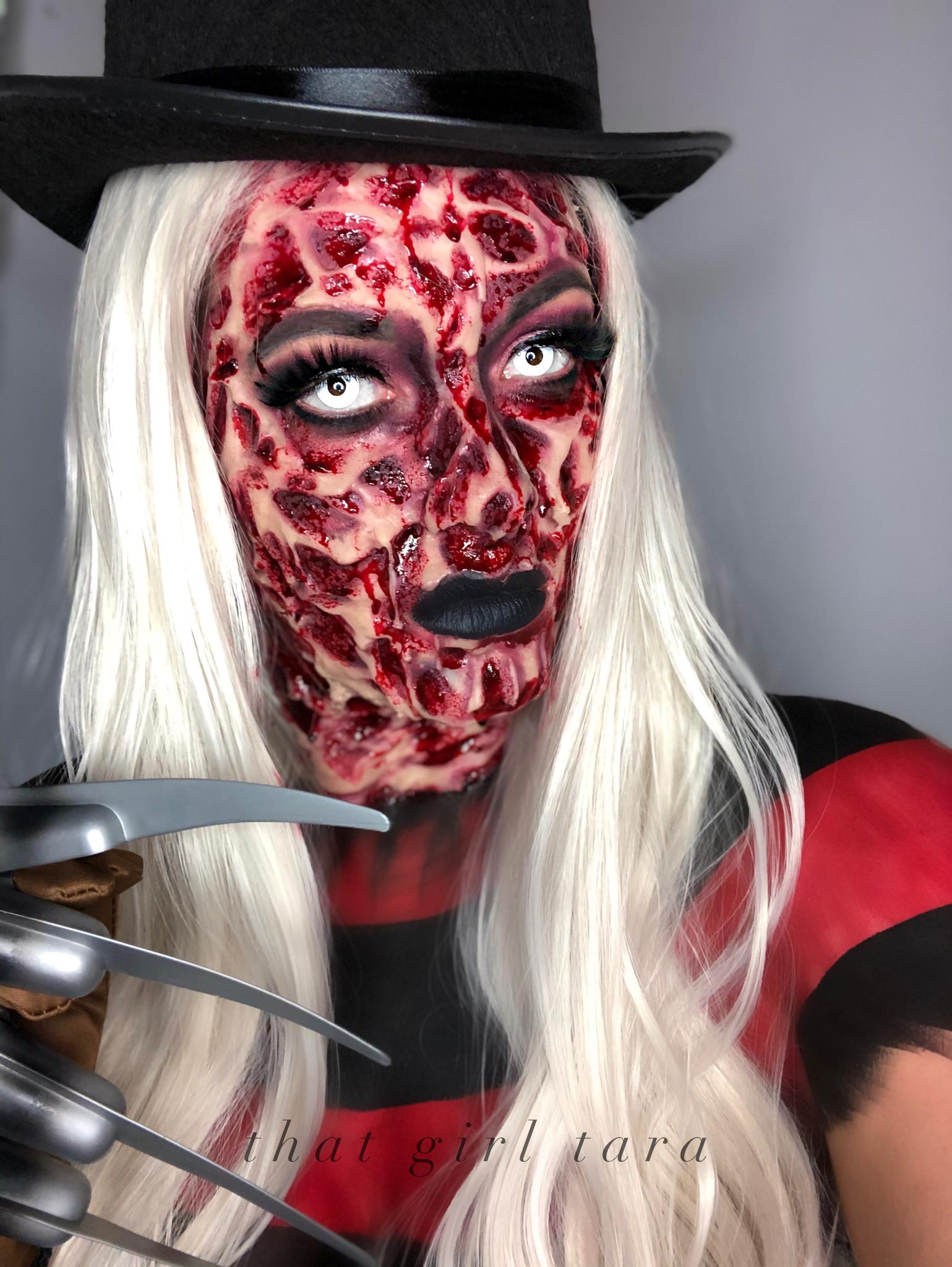 Freddy Krueger Makeup Freddy Krueger Makeup Halloween Makeup Freddie Kruger Makeup