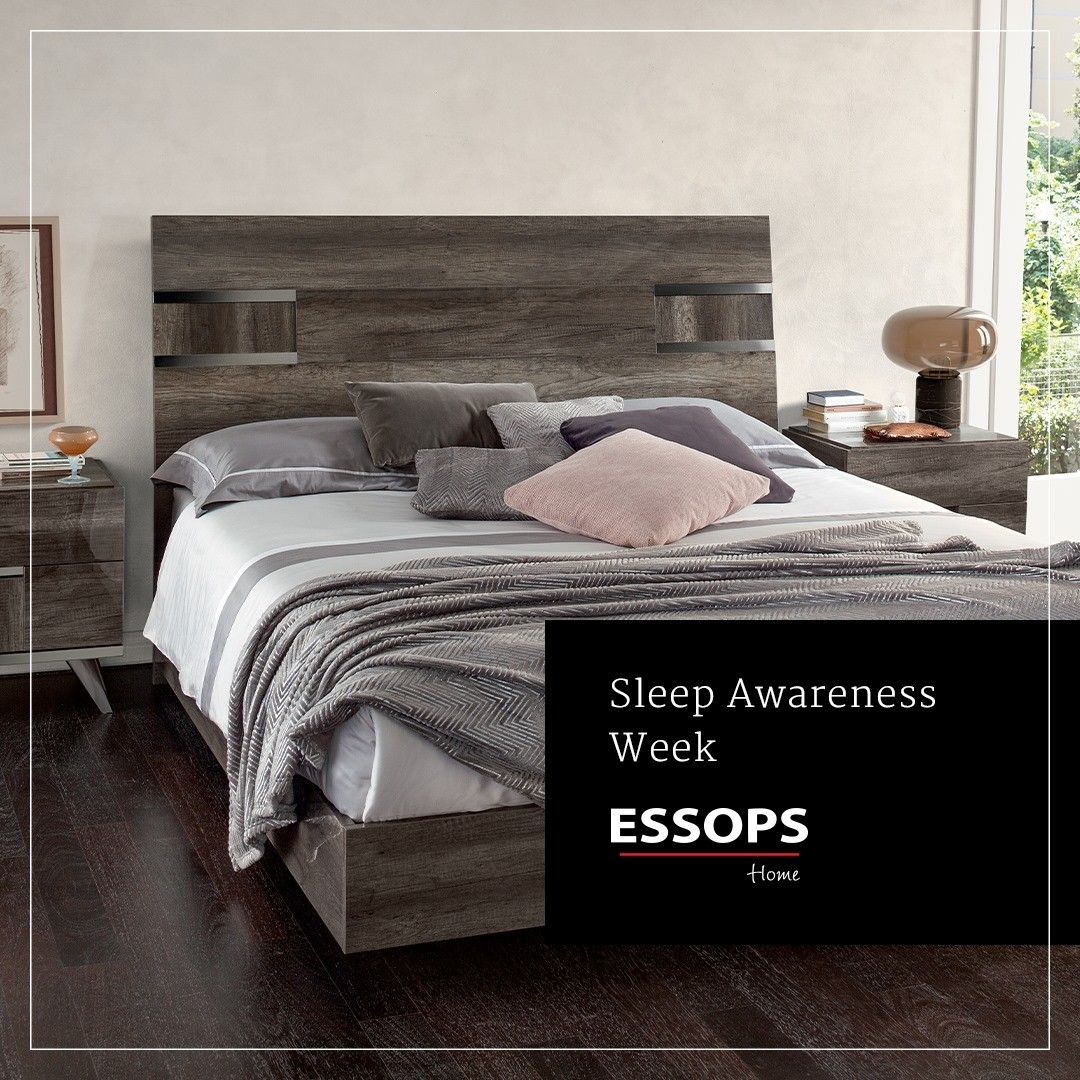 Zzzzz Rest Assured This Sleep Awareness Week That You Ll Be Getting The Best Night Of Sleep When You Choose Essops Shop Our Range Of St In 2020 Stylish Beds Bed Sleep