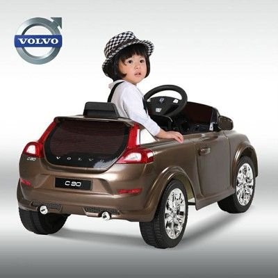 best kids battery powered ride on toy car luxurious volvo c30 power wheel on ebay