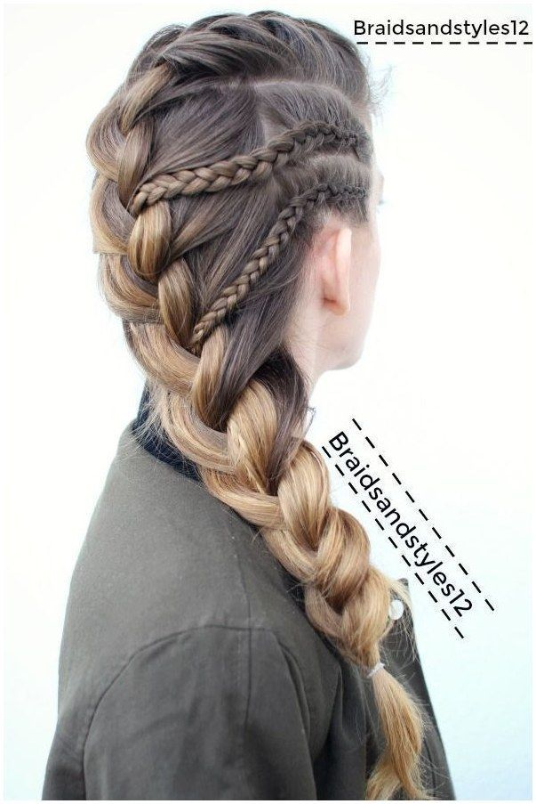 French Braid Braided Hairstyle By Braidsandstyles12 Braids Braided Hairstyles Youtube Channe Braids For Long Hair Braided Hairstyles Easy Braided Hairstyles