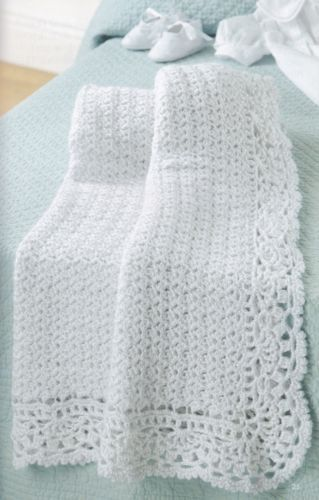 All-For-Baby-Leisure-Arts-Crochet-Pattern-Booklet-75269-Hoodie-Blankets-amp-More