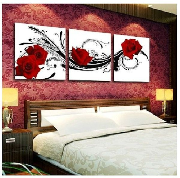 cuadros para habitaciones matrimoniales actuales cuadros