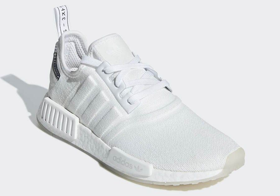 Adidas Nmd R1 Triple White Bd7746 Release Date Sbd Cute Womens Shoes Adidas White Shoes White Tennis Shoes