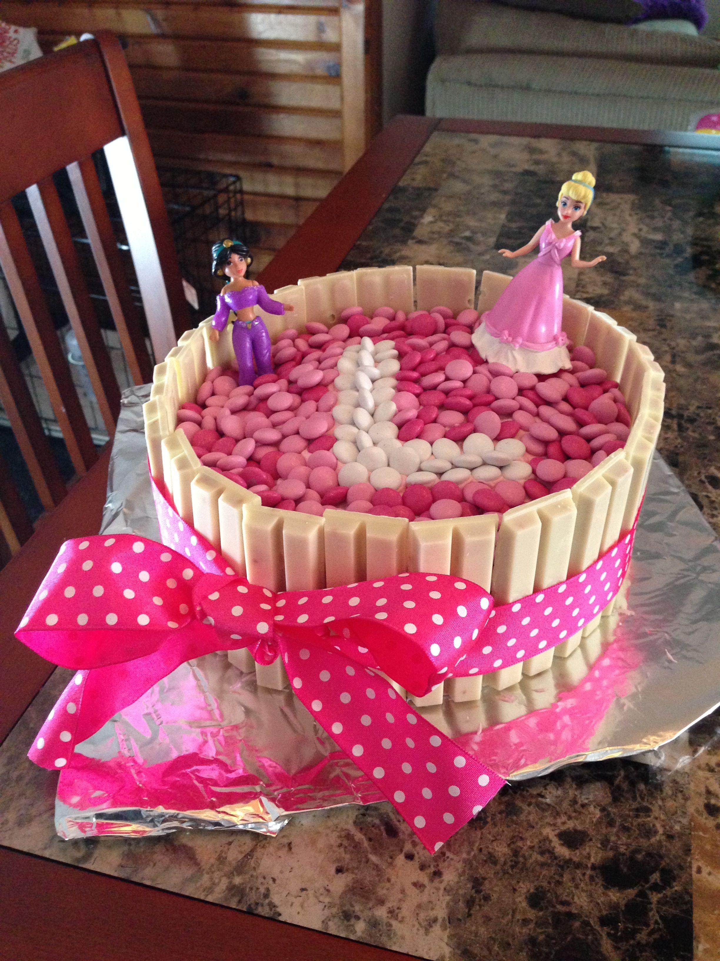 Cute And Easy Princess Cake