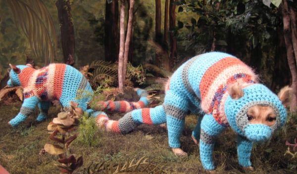 Elaine Bradfords #Crochet Animal #Art