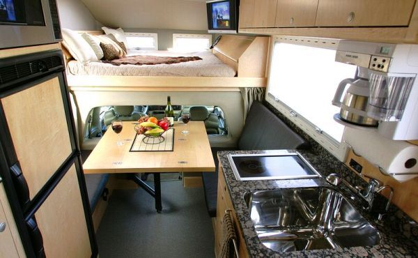 Custom Sleeper Cab Truck Interior Truck Living Big Rig