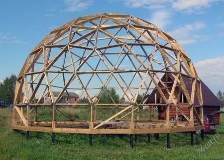 как построить купольный дом своими руками: 14 тыс ...