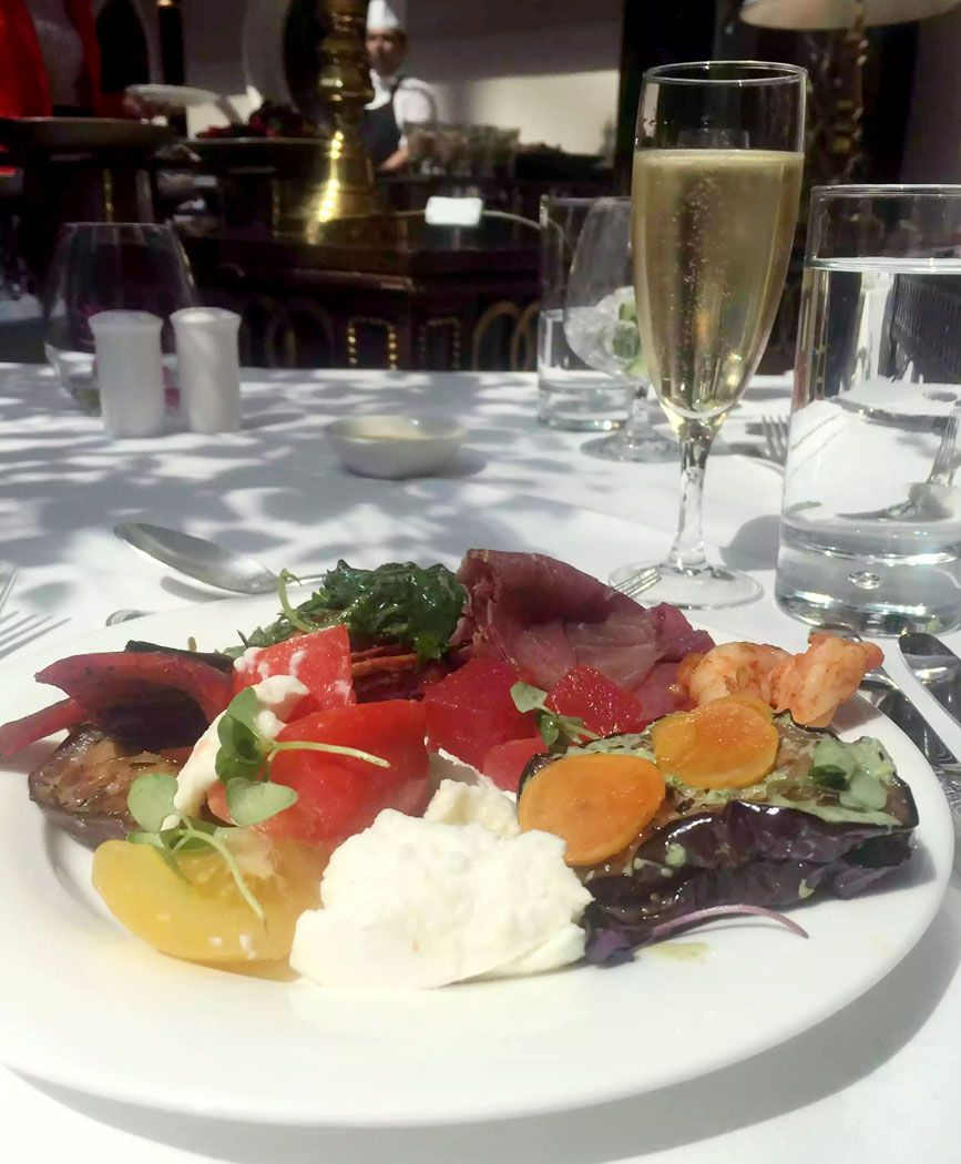 Champagne Brunch at the Landmark Hotel, London, UK ...