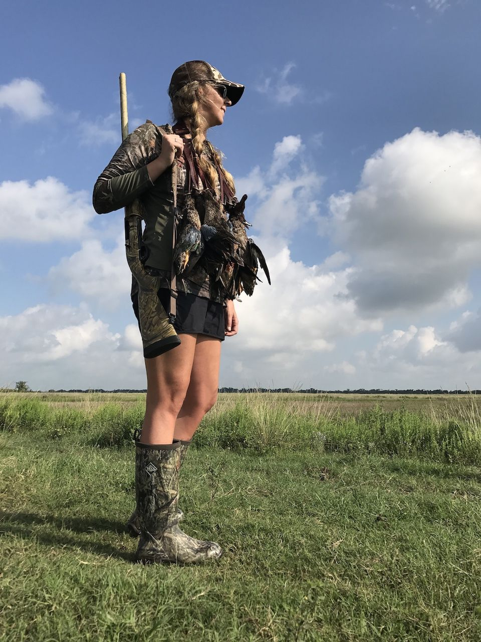 Gators, Teal and Hogs Oh My Mucks! Hunting women