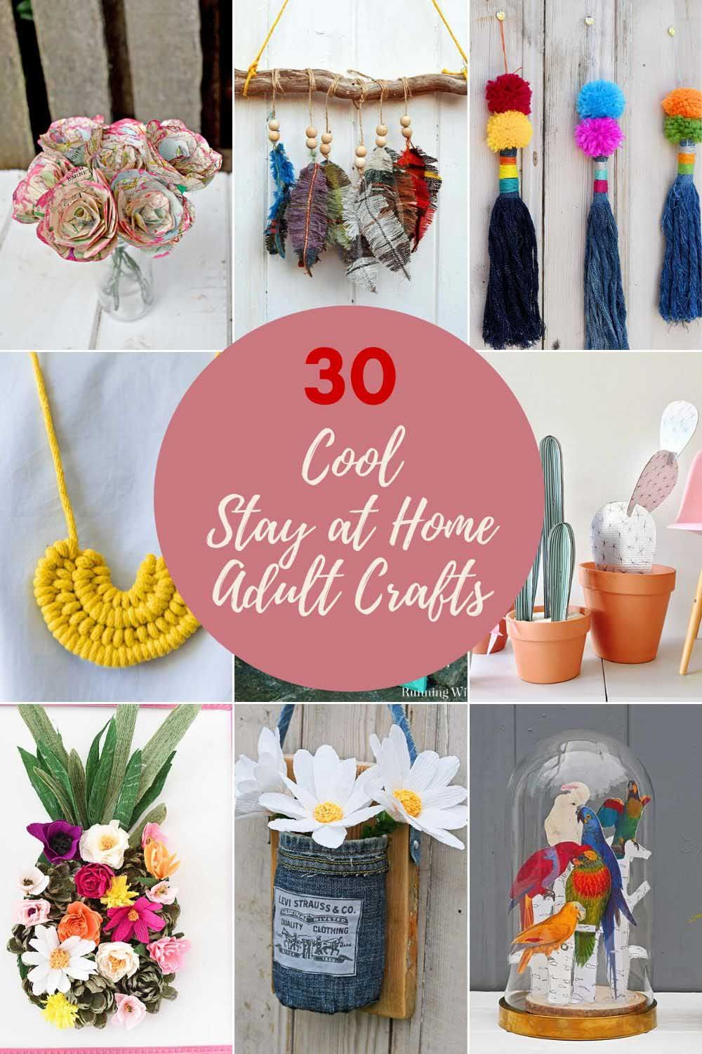 21++ At home crafts for adults to sell ideas