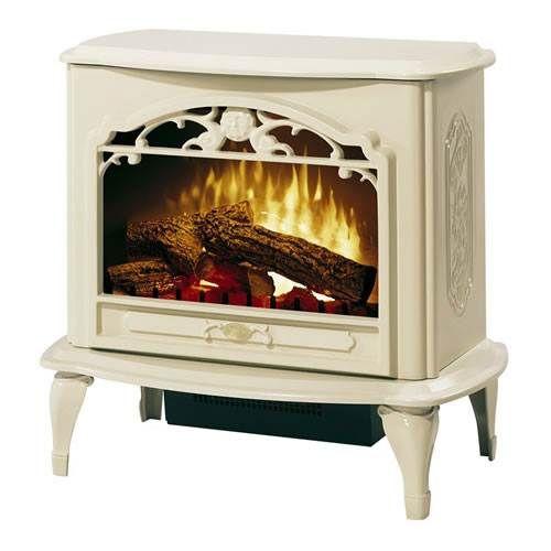 Dimplex Celeste Compact Electric Fireplace Stove Creme Electric Fireplace Heater Stove Heater Fireplace Heater