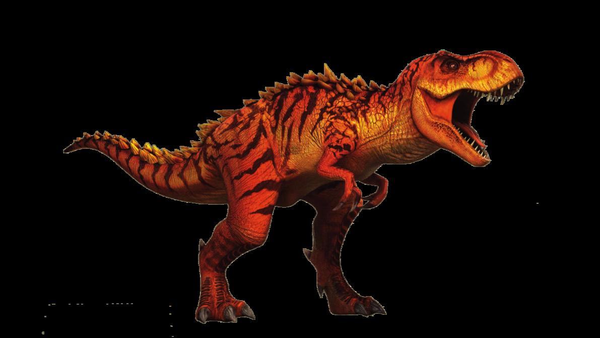 Jurassic World Hybrid TRex V2 by sonichedgehog2 on