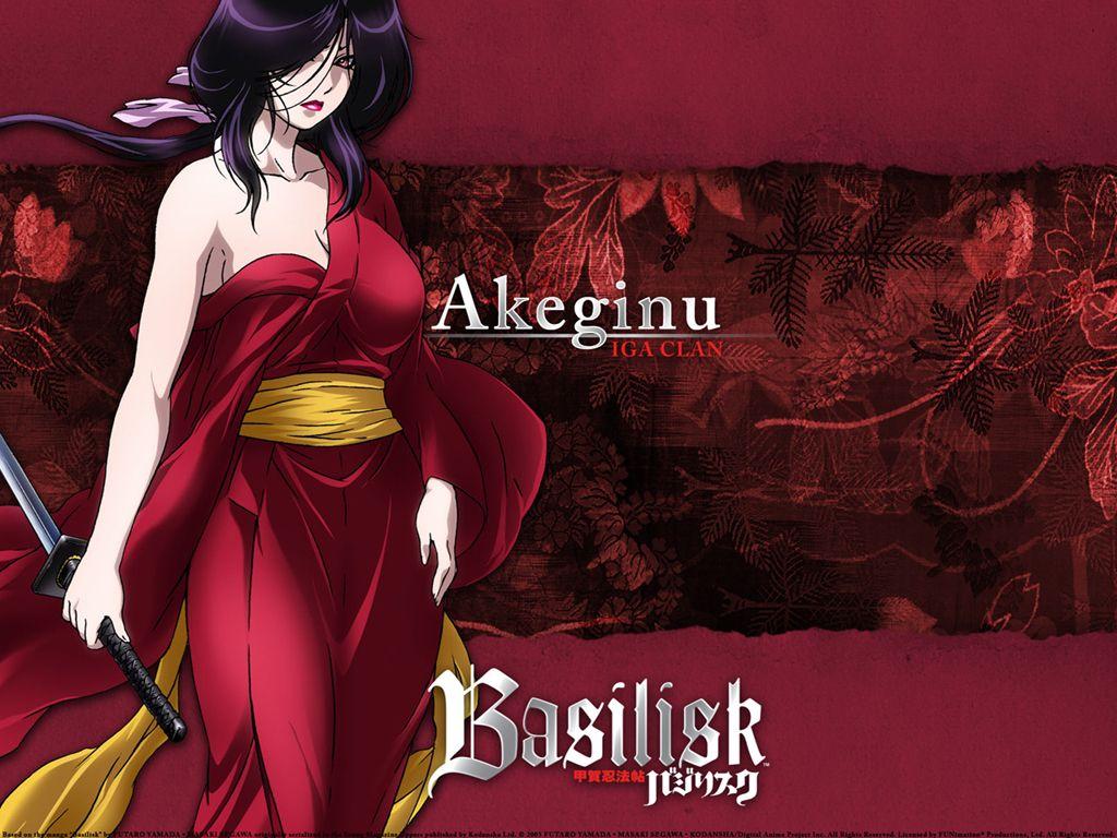 Akeginu - Iga Clan - Basilisk   Basilisk   Anime, Anime characters