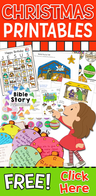 Christmas Bible Crafts & Printables Christmas bible