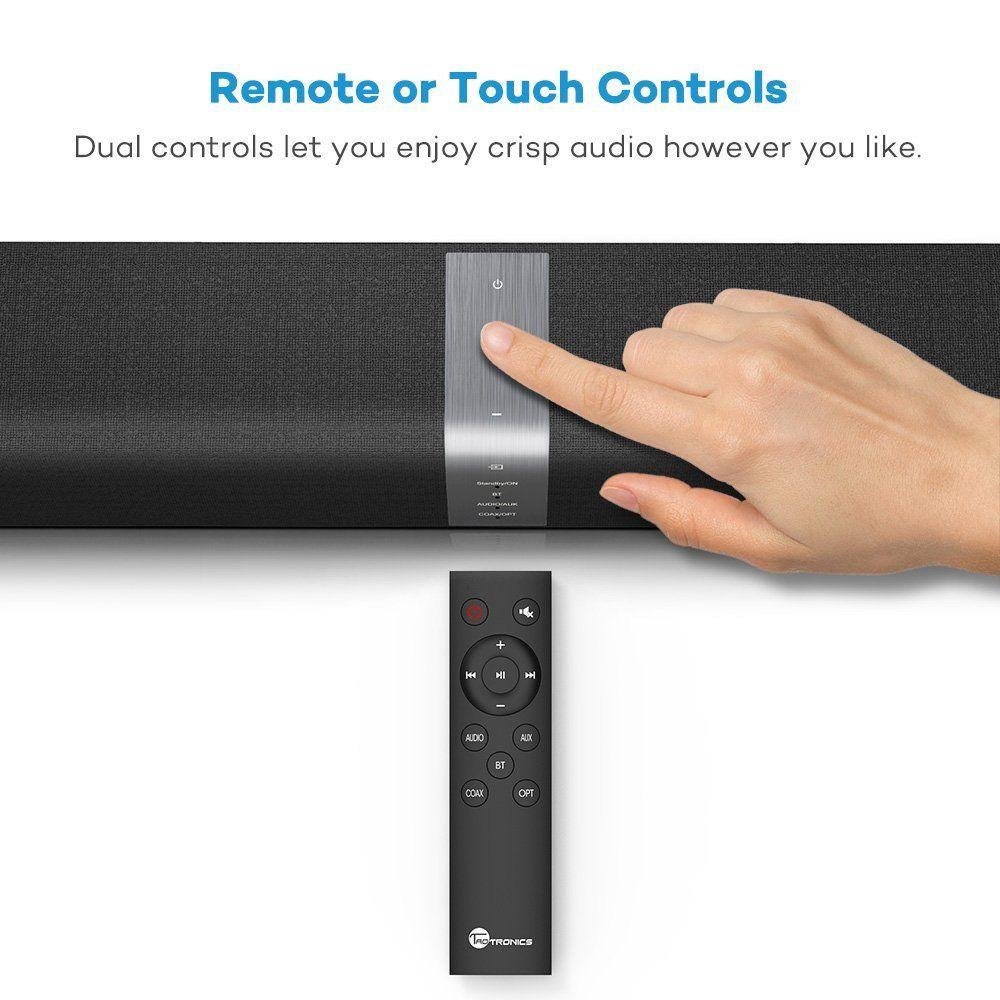 TaoTronics Bluetooth Sound Bar 59.99! Audio, Home