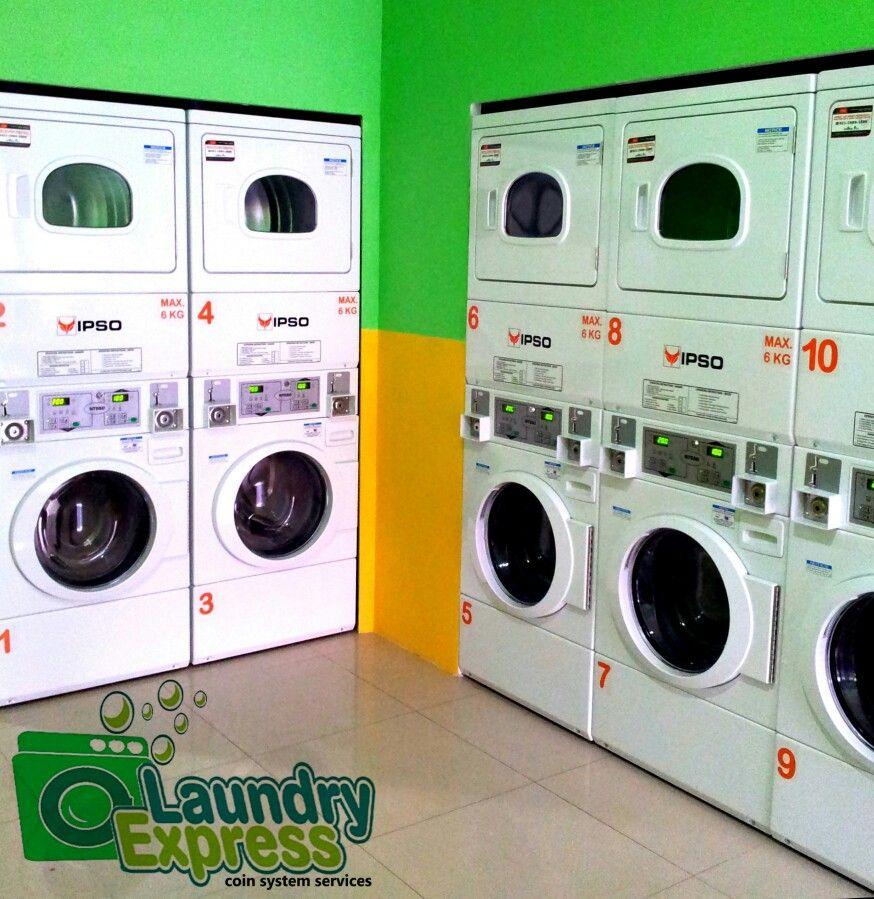 LAUNDRY EXPRESS Laundromat 1st store open at Pluit