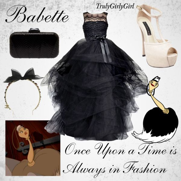 Disney Style: Babette, created by trulygirlygirl on Polyvore ...