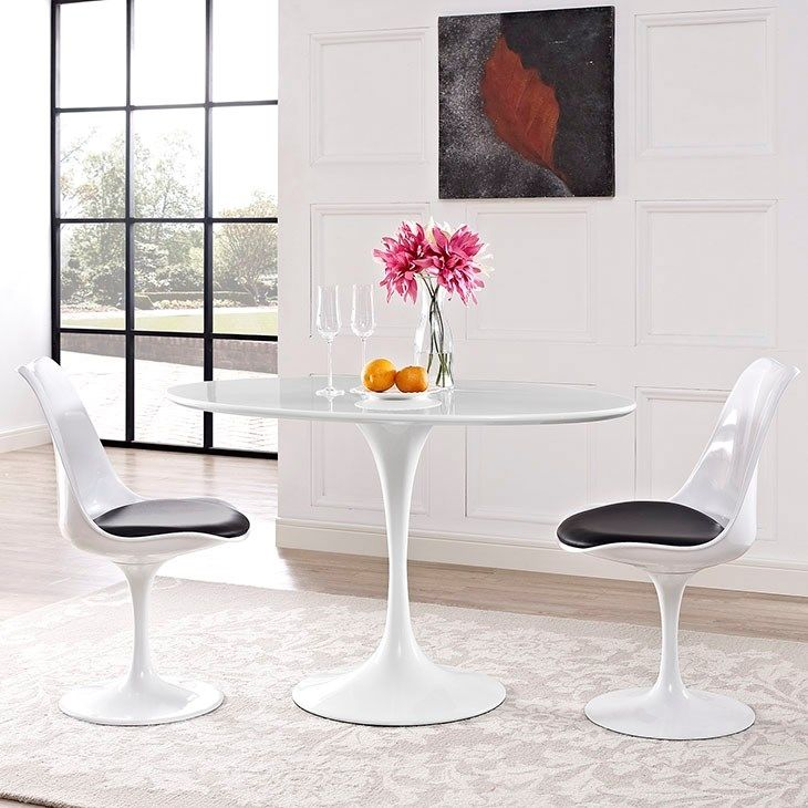 kitchen dining tables step stool for lippa 48 oval shaped wood top table in white