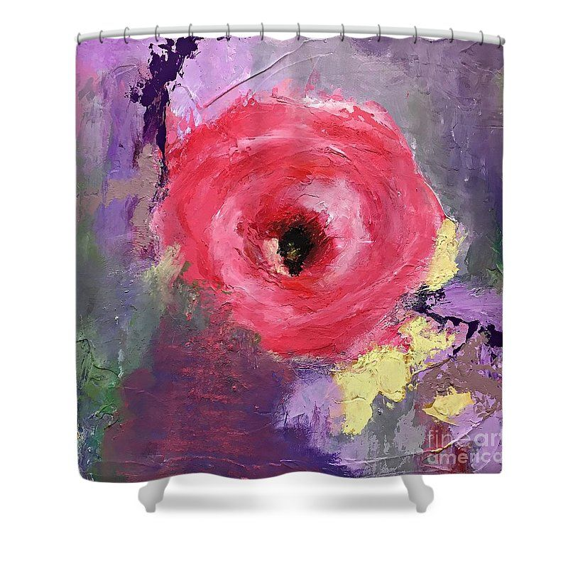 Spring Beauty art shower curtain by Mary Mirabal Art