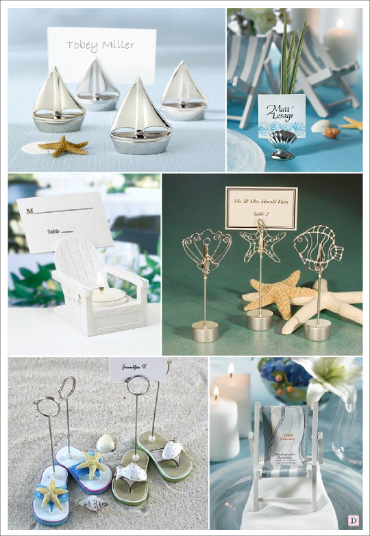 decoration table mariage mer