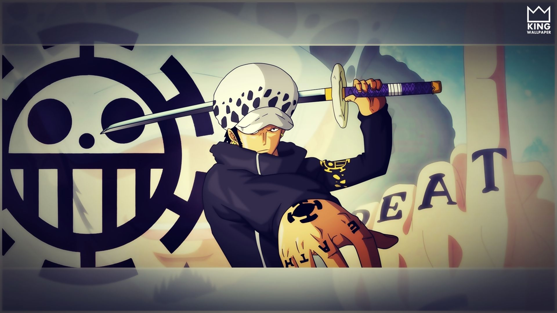Trafalgar Law Wallpaper One Piece By Kingwallpaper Trafalgar