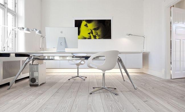 Home Office Modern Wood Flooring Dinesen Home Office Design