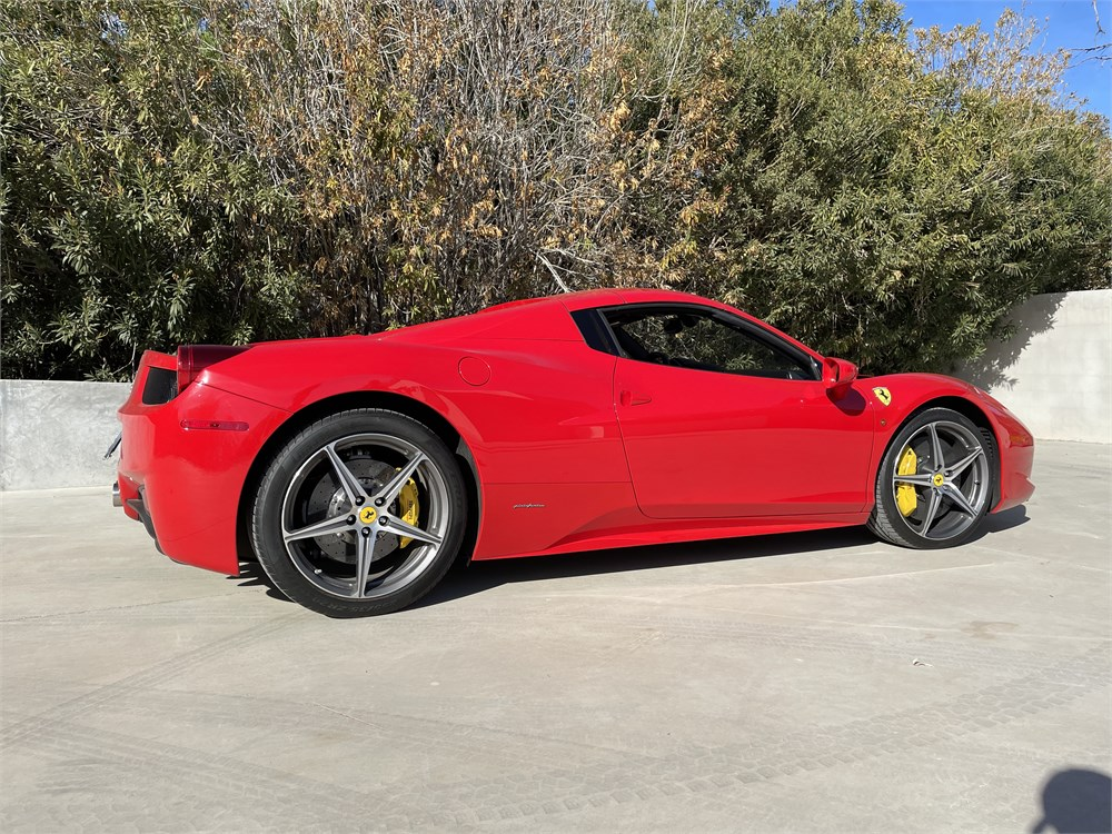 2014 Ferrari 458 Spider Available For Auction Autohunter Com 2294943 In 2021 Ferrari 458 Ferrari Ferrari 458 Italia Spider