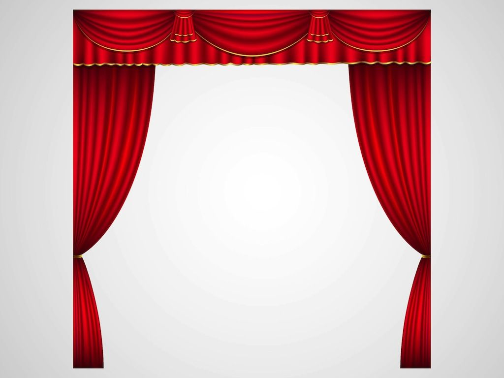 Free coloring pages of stage curtains - Theater Stage Curtains Theater Curtains