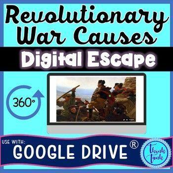 Photo of Handwash poster funny Revolutionary War Causes DIGITAL ESCAPE ROOM for Google Drive® – Think Tank Teacher – handwash poster funny