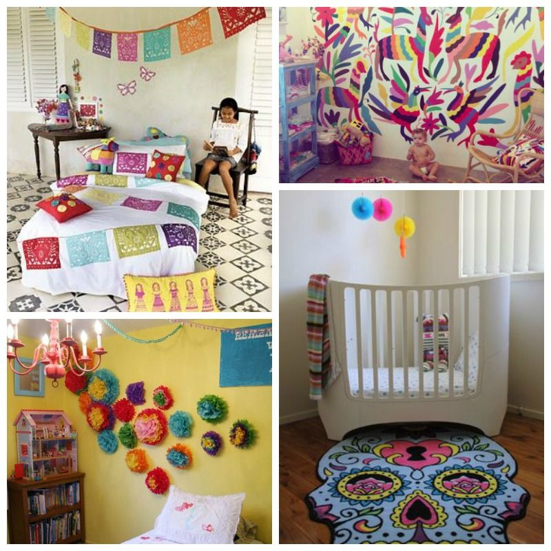 Colorful Boho Room: A Bohemian Mom Blog: Mexican Themed