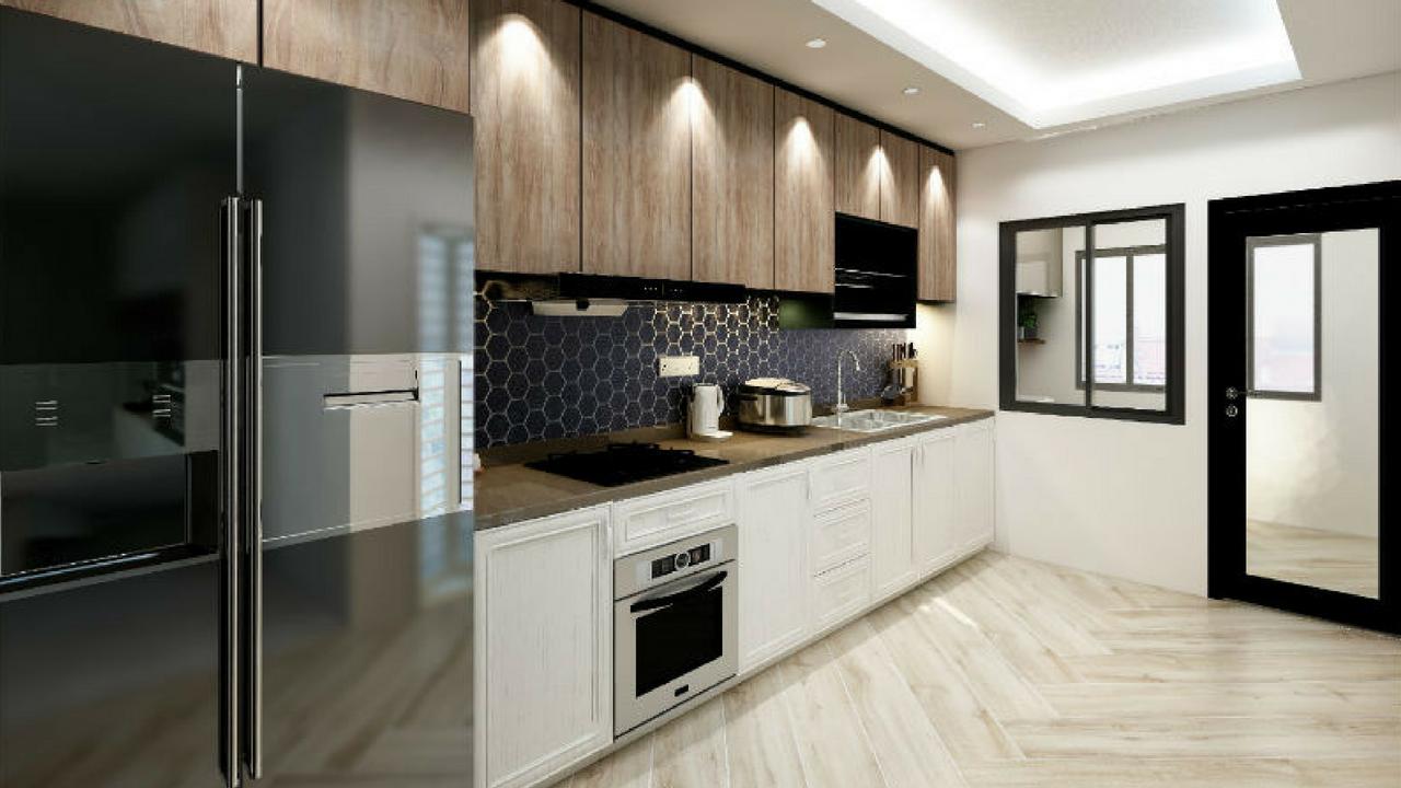 Aluminium Kitchen Cabinet Singapore Contractor House Of Countertops Aluminum Kitchen Cabinets Aluminium Kitchen Kitchen Cabinets