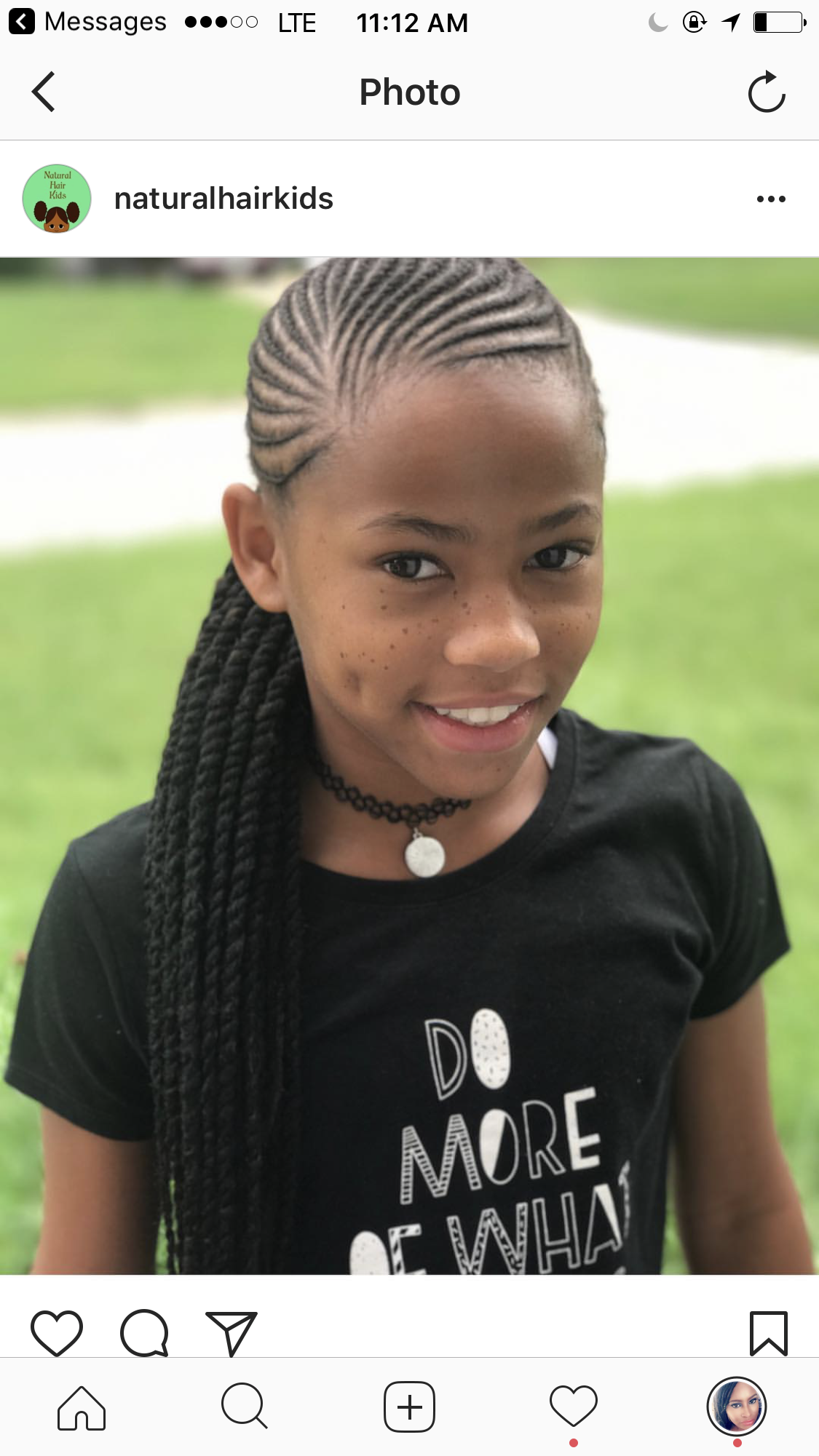 Adorable Natural Hairstyles For Kids