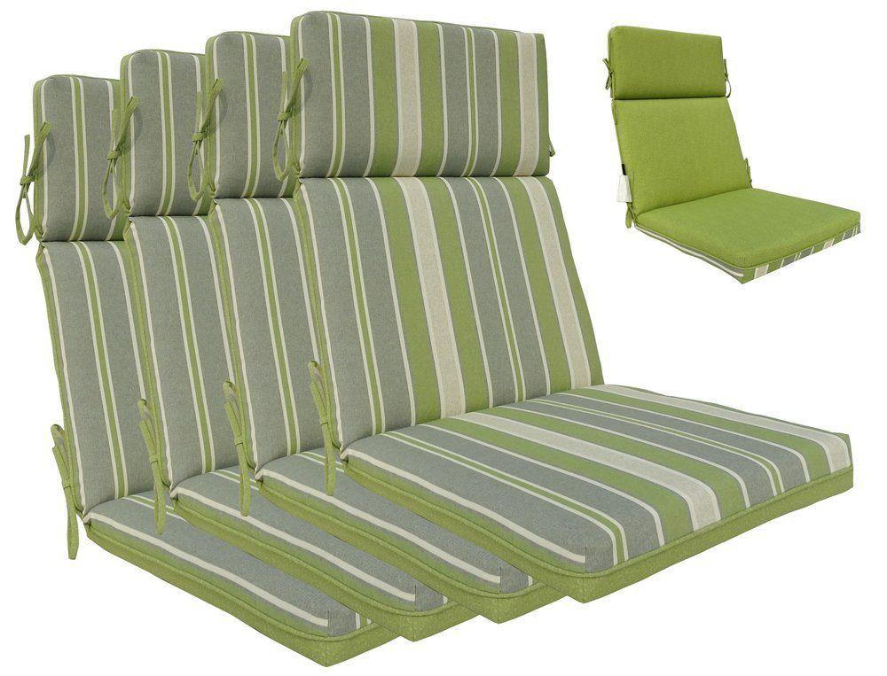Outdoor High Back Chair Cushions High Back Chairs Patio Chair Cushions Chair Cushions