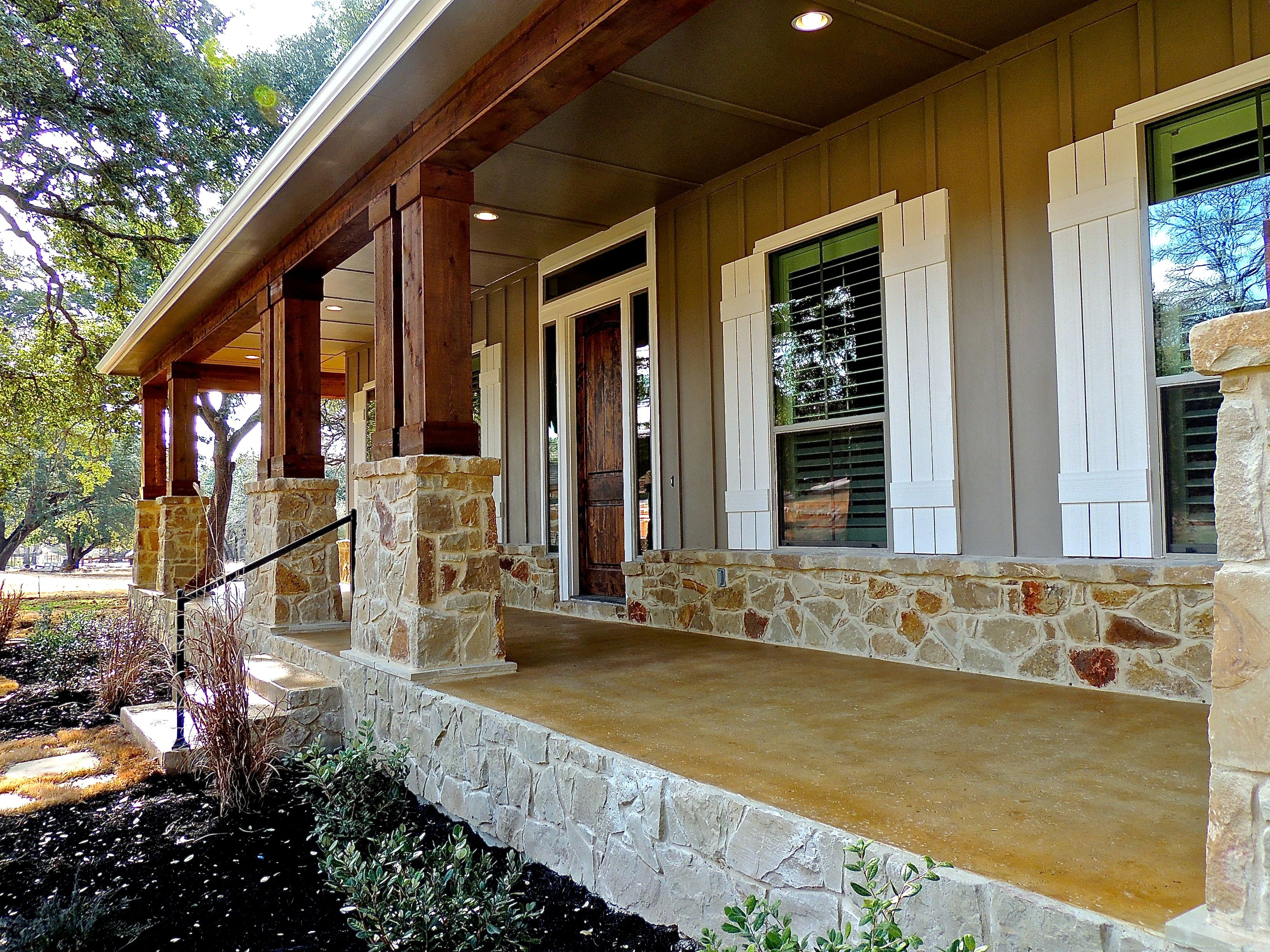 Open house at 1608 high lonesome in leander texas front for Texas hill country home builders