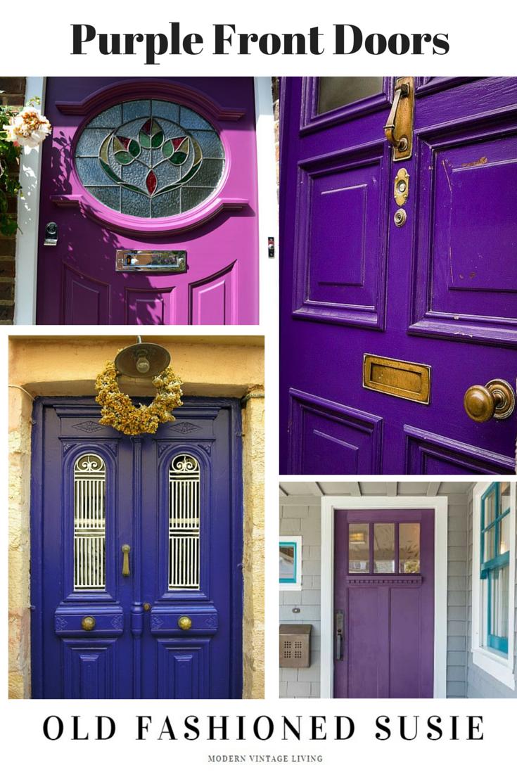 Front Door Purple Things I Love Pinterest Purple Door Front
