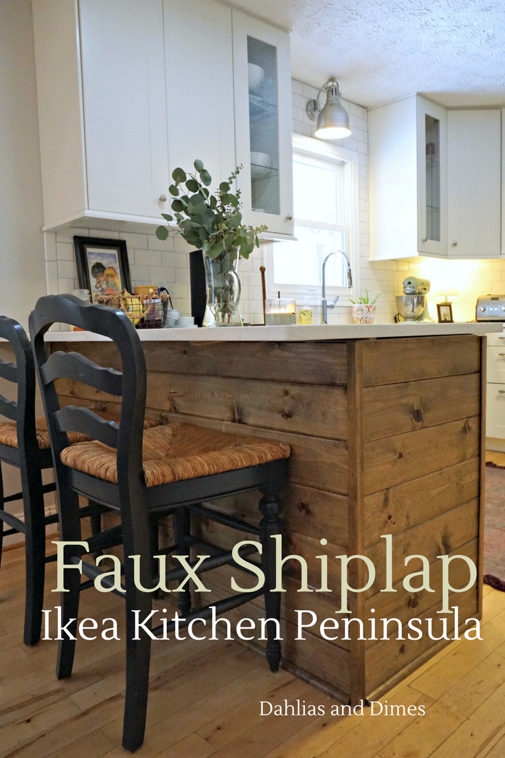 How To Install Kitchen Island: IKEA Kitchen Peninsula - Making It Ours