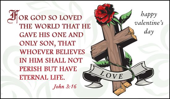 Free John 316 eCard eMail Free Personalized Valentines Day – Valentine Day Cards Online