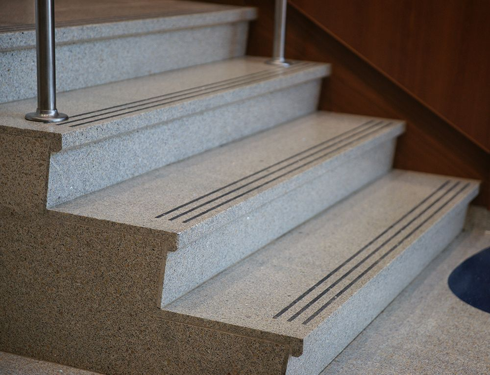 Stair Treads Amp Risers Terrazzo Stairs Treads Risers