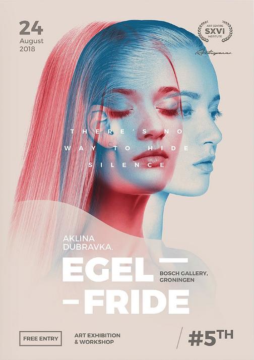 artist flyer poster template