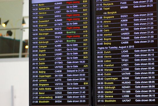 10 Things You Should Never Do To Catch A Plane Shermanstravel Com Booking Flights Book Cheap Flights Departures Board