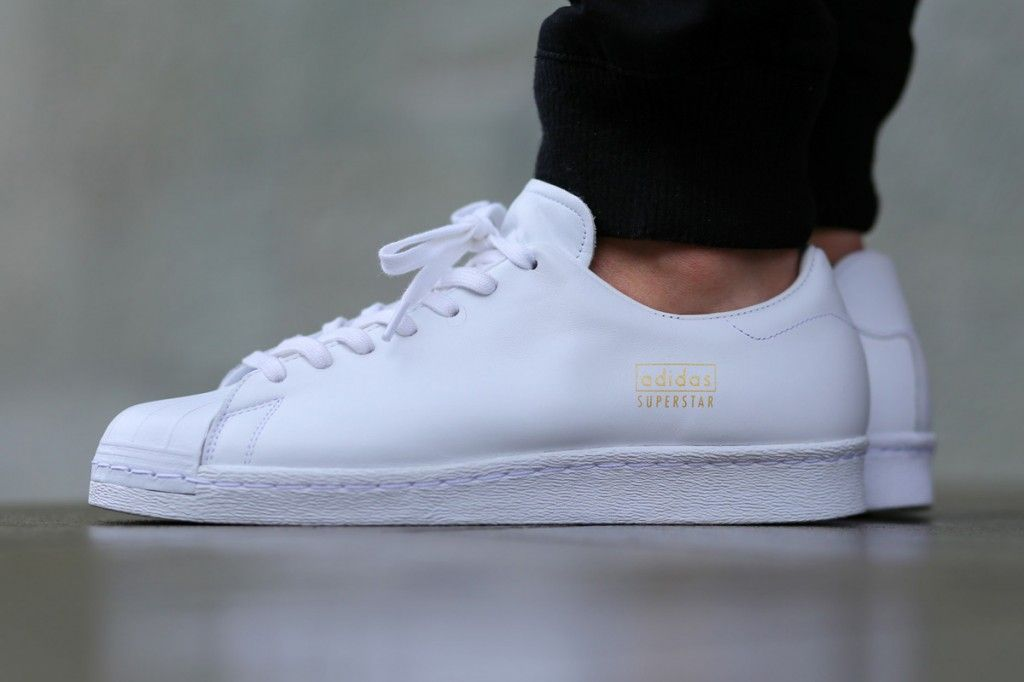 "adidas Superstar 80s Clean ""White"" - KicksOnFire.com"