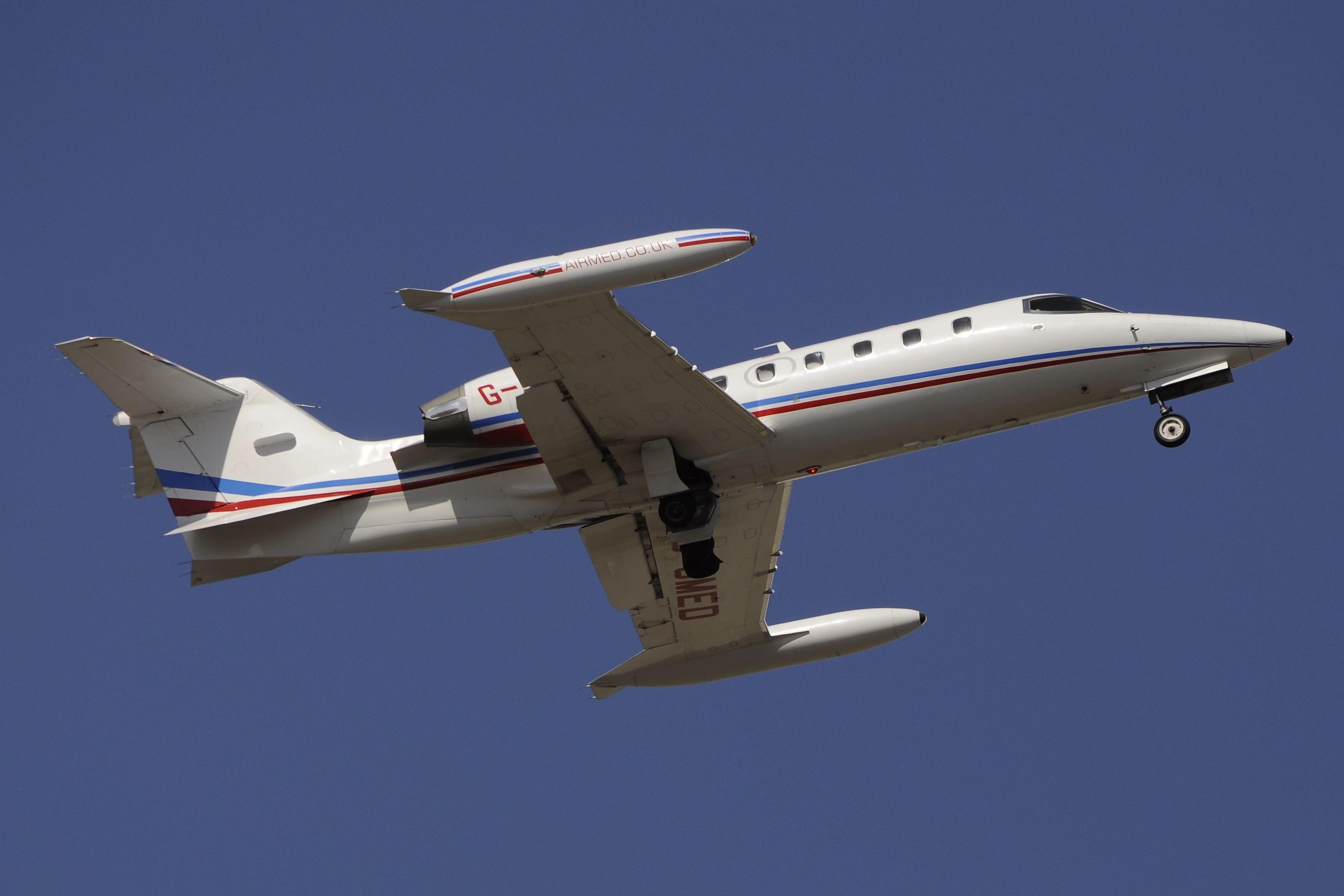 GJMED Learjet 35A LJ35 35671 Avião comercial