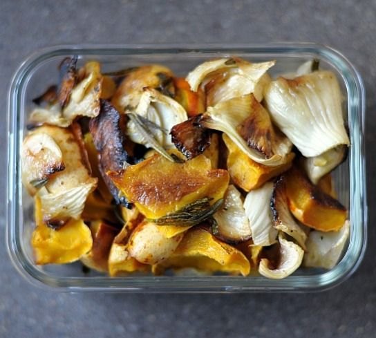Roasted Local Sweet Dumpling Squash and Fennel with Rosemary #familypicnicfoods